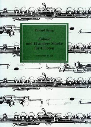 Edvard Grieg - Kobold und 12 andere stücke für 4 Flöten - Partition - di-arezzo.fr