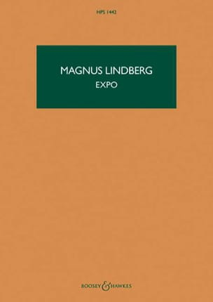 Expo Magnus Lindberg Partition Grand format - laflutedepan