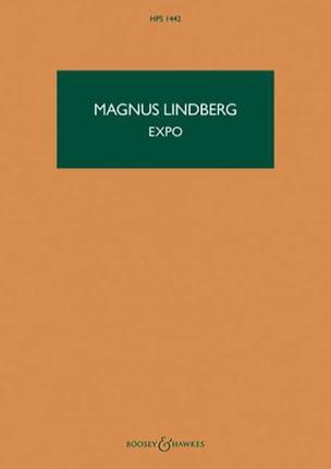 Expo - Magnus Lindberg - Partition - Grand format - laflutedepan.com
