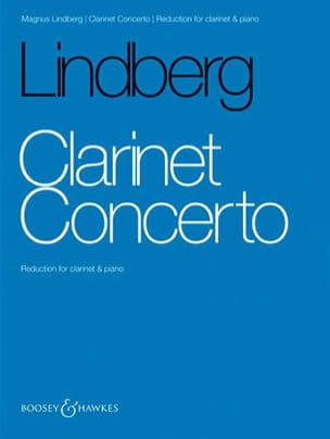 Concerto pour clarinette - Magnus Lindberg - laflutedepan.com