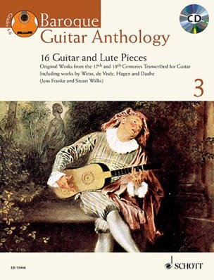 - Baroque Guitar Anthology, volume 3 - Partition - di-arezzo.fr