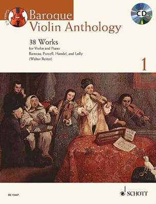 Baroque Violon Anthology Volume 1 - Partition Violon - laflutedepan