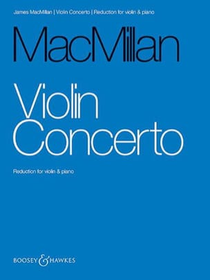Concerto pour violon James MacMillan Partition Violon - laflutedepan