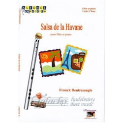 Salsa de la Havane Franck Dentresangle Partition laflutedepan