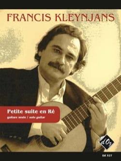 Francis Kleynjans - Petite Suite en Ré, op. 194 - Partition - di-arezzo.fr