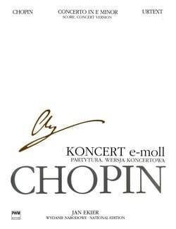 Frédéric Chopin - Concerto N° 1 mi mineur - Score (Concert Version) - Partition - di-arezzo.fr