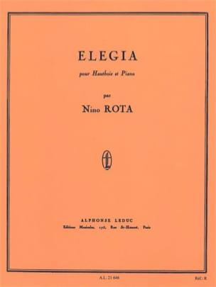 Nino Rota - Elegia - Oboe and piano - Sheet Music - di-arezzo.co.uk