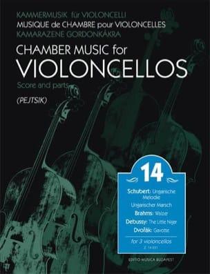 Musique de chambre pour violoncelles, vol 14 - laflutedepan.com