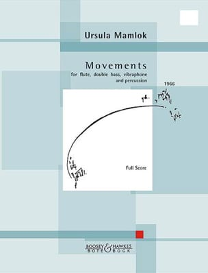 Ursula Mamlok - Movements - Partition - di-arezzo.fr