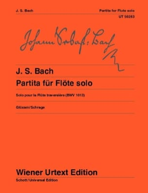 BACH - Partita for solo flute, BWV 1013 - Sheet Music - di-arezzo.com