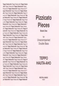 Pizzicato pieces - Book One Teppo Hauta-Aho Partition laflutedepan