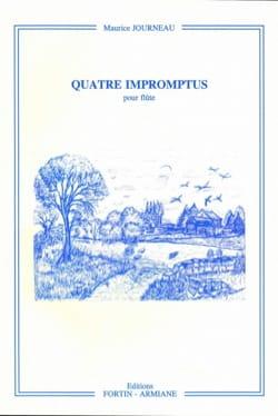 Maurice Journeau - Quatre impromptus - Partition - di-arezzo.fr