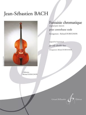 Fantaisie Chromatique BACH Partition Contrebasse - laflutedepan