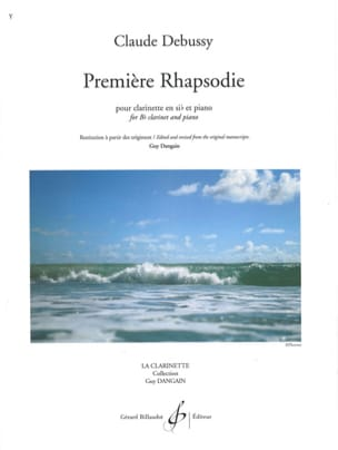 DEBUSSY - First Rhapsody - Sheet Music - di-arezzo.com