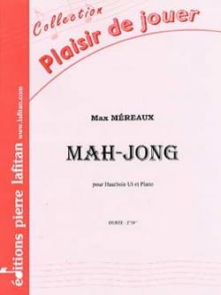 Mah-Jong Max Méreaux Partition Hautbois - laflutedepan