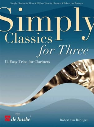 Simply Classics For Three Partition Clarinette - laflutedepan