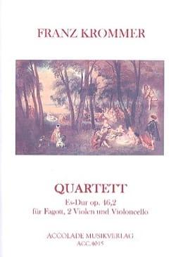 Franz Krommer - Quartet in Eb major, op. 46 n ° 2 - Sheet Music - di-arezzo.co.uk