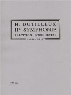 Henri Dutilleux - Symphony No. 2 - Sheet Music - di-arezzo.co.uk