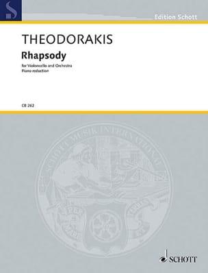 Rhapsody - Mikis Theodorakis - Partition - laflutedepan.com
