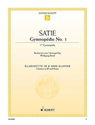Première Gymnopédie SATIE Partition Clarinette - laflutedepan