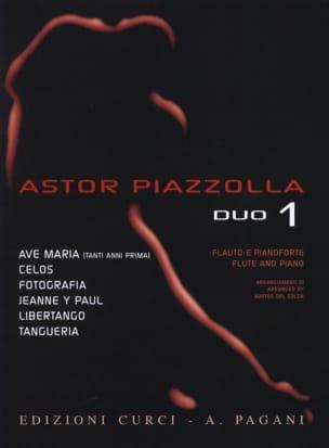 Astor Piazzolla for Duo Volume 1 - Astor Piazzolla - laflutedepan.com