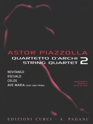Astor Piazzolla for String Quartet Volume 2 laflutedepan