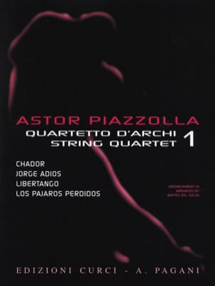 Astor Piazzolla - Astor Piazzolla for String Quartet Volume 1 - Sheet Music - di-arezzo.co.uk