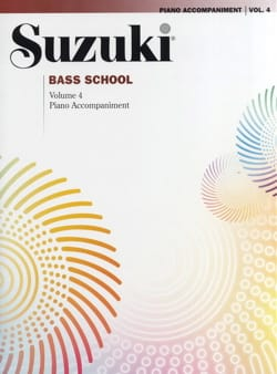 suzuki - Bass school, vol 4 - Piano accompaniment - Sheet Music - di-arezzo.com