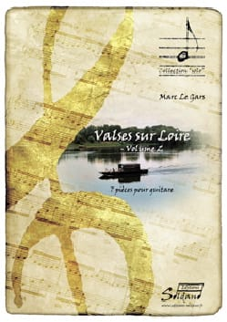 Valses sur Loire Volume 2 Gars Marc Le Partition laflutedepan