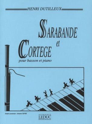 Henri Dutilleux - Sarabande and Procession - Sheet Music - di-arezzo.com
