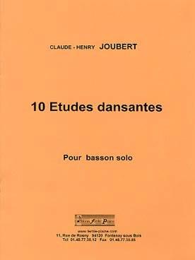 Claude-Henry Joubert - 10 estudios de baile - Partitura - di-arezzo.es