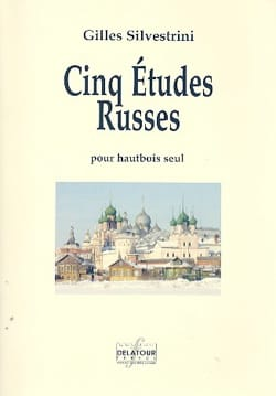 Gilles Silvestrini - 5 Russian Studies - Oboe - Sheet Music - di-arezzo.co.uk