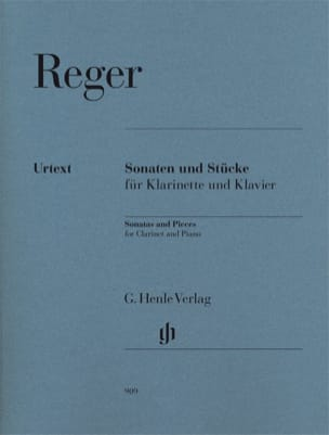 Max Reger - ソナタとクラリネットとピアノのための様々な作品 - 楽譜 - di-arezzo.jp