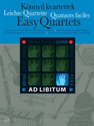 Easy Quartets Partition Quatuors - laflutedepan