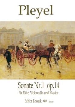 Sonate N° 1 op. 14 Ignaz Pleyel Partition Trios - laflutedepan