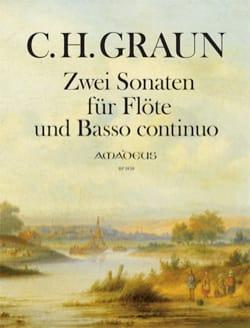 Deux Sonates - Carl Heinrich Graun - Partition - laflutedepan.com