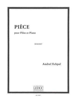 Andreï Echpaï - Pièce - Flûte et piano - Partition - di-arezzo.fr