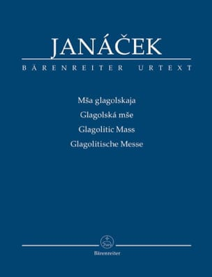 Leos Janacek - Glagolitic Mass - Sheet Music - di-arezzo.co.uk