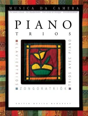- Piano trios - Partition - di-arezzo.fr