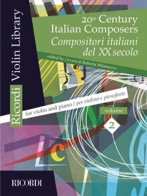 - 20世紀イタリア作曲家、第2巻バイオリン/ピアノ - 楽譜 - di-arezzo.jp