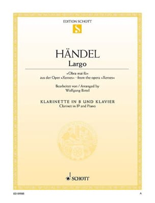 HAENDEL - Largo - Sheet Music - di-arezzo.com