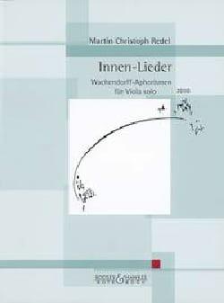 Innen - Lieder, op. 67 - Martin Christoph Redel - laflutedepan.com
