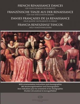 - French Renaissance dances for four stringed instruments - Sheet Music - di-arezzo.co.uk