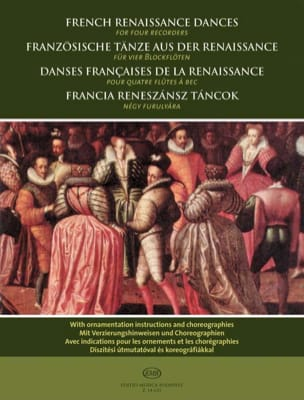 - French dances of the Renaissance - Sheet Music - di-arezzo.com