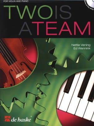 Two is a Team - Violon et piano Partition Violon - laflutedepan