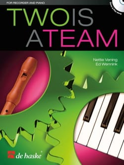 Two is a Team - Flûte à bec et piano - laflutedepan.com