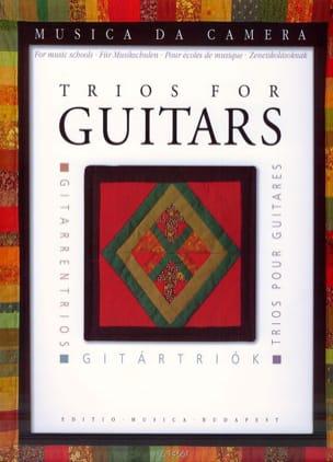 Trios pour guitares - Partition - Guitare - laflutedepan.com