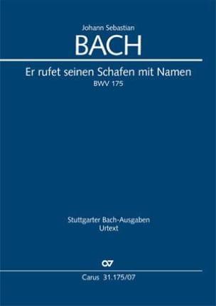 BACH - Er rufet seinen Schafen mit Namen, BWV 175 - Partition - di-arezzo.fr
