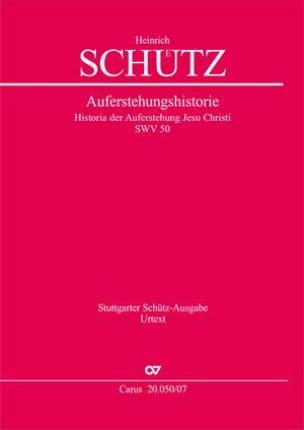 Historia der Auferstehung Jesu Christi, SWV 50 (op. 3) - laflutedepan.com