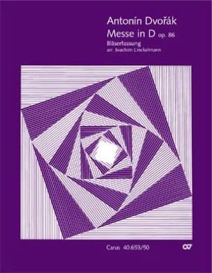 Messe en Ré Majeur, op. 86 - Antonin Dvorak - laflutedepan.com
